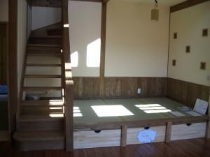 畳コーナー収納