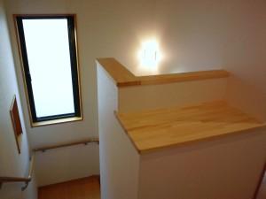 階段部カウンター