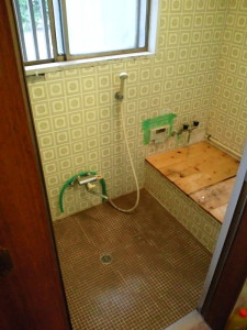 タイル浴室(既存)