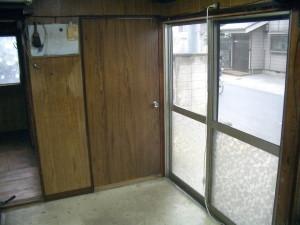 既存入口ドア