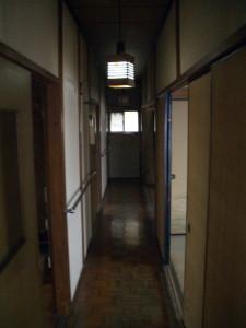 2階既存廊下
