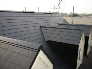屋根二度塗り